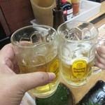 松ぼっくり - 乾杯~♪