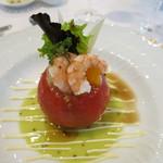 ラ・ロゼット - トマトのファルシ
