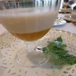 ラ・ロゼット - 桃のスープ