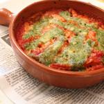 トリッパとギアラのハーブトマト煮込み