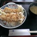 能登屋 - 天丼一式¥1100