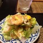 バーンリムパー 新宿三丁目2号店 - セットのサラダ(野菜多め)