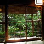 瓢亭 - エアコンないのに涼しい個室