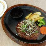 ステーキのあさくま  - 石垣島和牛和風ハーブハンバーグ(2013/08/10撮影)
