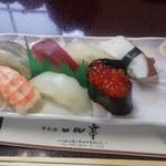 一心亭 - 料理写真:にぎり¥1280