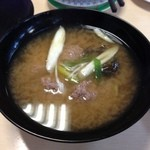 栄助寿し - 料理写真:漁師汁