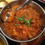 ダバ インディア - 辛いチキンひき肉カレー¥1260