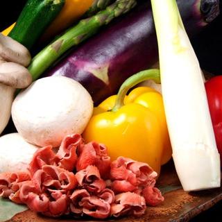 季節の野菜を野菜本来の美味しさで味わって頂けます。