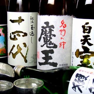 鹿児島県産芋焼酎を始め各種取り揃えております。