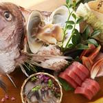 和食居酒屋  まいどっ なま粋 - 新鮮な魚介を使った豪華お刺身盛り合わせもご用意してます!!