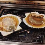 海鮮茶屋貝族料理みのしょう - ほたて