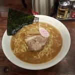 玉五郎 - 煮干しラーメン大盛り780円