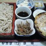 砂場 - カツ丼セット