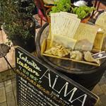 ALMA - 日付入り本日のメニュー
