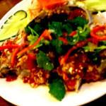 ショントーング - プードォン(2,380円)タイの渡りガニ(メス)を使った生カニの辛タレ漬け