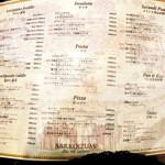 イタリアンバール コイズミ - メニューは前菜からデザートまで。