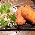 滋久 - 鶏とエリンギのクリームコロッケ