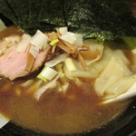 すごい煮干ラーメン凪 - 750えん『煮干ラーメン』2013.8