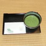 南関御茶屋跡 - 料理写真:抹茶と和菓子