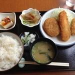ごはん処 のぐっち - 料理写真:盛り合わせ定食@790円