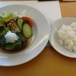 キッチン TANKO - 2013年8月 手こねハンバーグセット 1080円