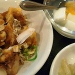 Kaisenkan - 付け合せの鶏の唐揚げがとても柔らかくて美味しかった
