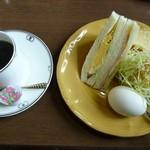 喫茶カルネ - 料理写真:モーニング全体