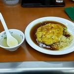 餃子の王将 - 料理写真:天津チャーハン スープ付き 577円