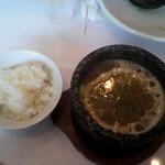 20571875 - 再加熱スープ割り