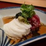 しゅん逢 紗々木 - ☆お肉の湯引きは長芋そうめんとの組み合わせが絶妙☆