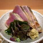 しゅん逢 紗々木 - ☆鰹のたたきは藁の香りがプラスα楽しめます☆