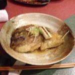 神童ろ - 鯛のかぶと煮(ブレすぎ)
