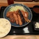 20573020 - デラックスかつ定食1500円