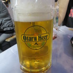 小樽ビール 夏のビアガーデン - ピルスナー(M)