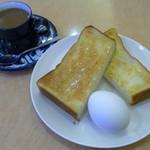 KURA - 料理写真:モーニングセット 350円