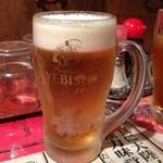 陳麻家 - 生ビール