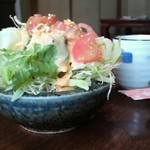 誠寿司 - サラダ