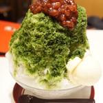 よーじやカフェ - かき氷宇治(850円)