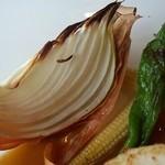 淡路のビストロ manki - お野菜。
