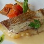 淡路のビストロ manki - お魚のメイン。