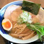 琥珀 - 琥珀そば(中太麺) ¥770