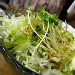おかめ - 中華サラダ350円