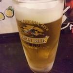 北勝 - 生ビール中 \500