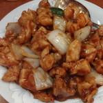 20580891 - 鶏肉の味噌炒め