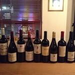 TOWER - ワインも常時15~25本