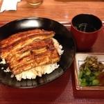 20583543 - H.25.08.10.夜 竹葉コース6,300円の鰻丼