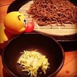 20584650 - 2013/04/04                         柚子とわさびのざる蕎麦