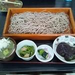 大川商店 - 草餅セット。