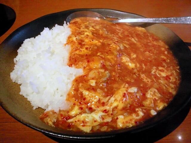 元祖ニュータンタンメン本舗 蒲田店 - タンタン飯