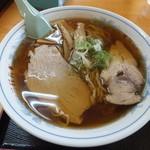 三日月軒 - 酒田ラーメン580円